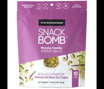 Snack Bomb Matcha Vanilla Energy Balls 200g