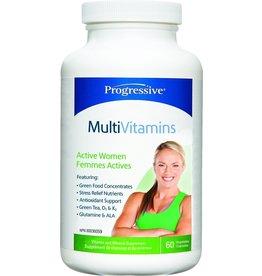 Progressive Multivitamin Active Women 60 caps