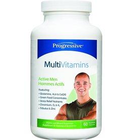 Progressive Multivitamin Active Men 60 caps