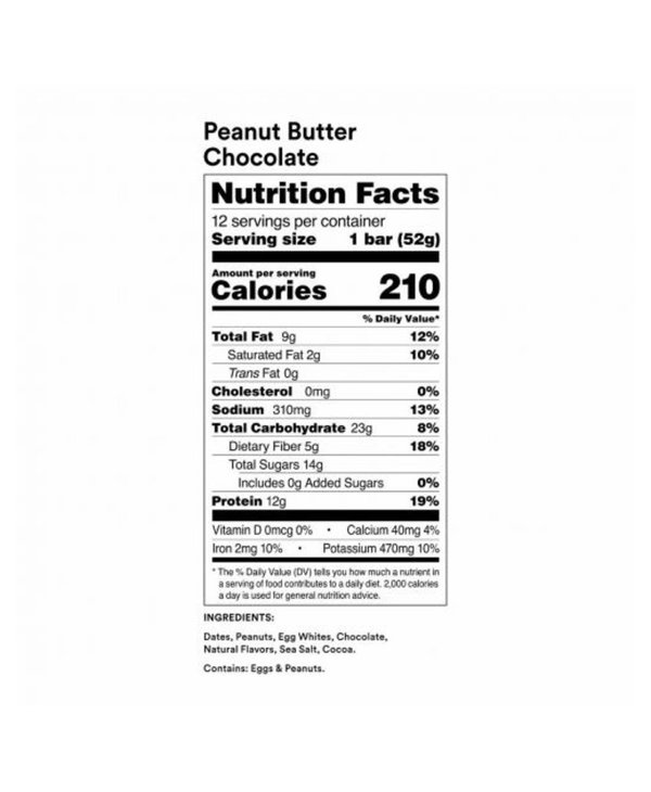 Rx Protein Bar Peanut Butter Chocolate single