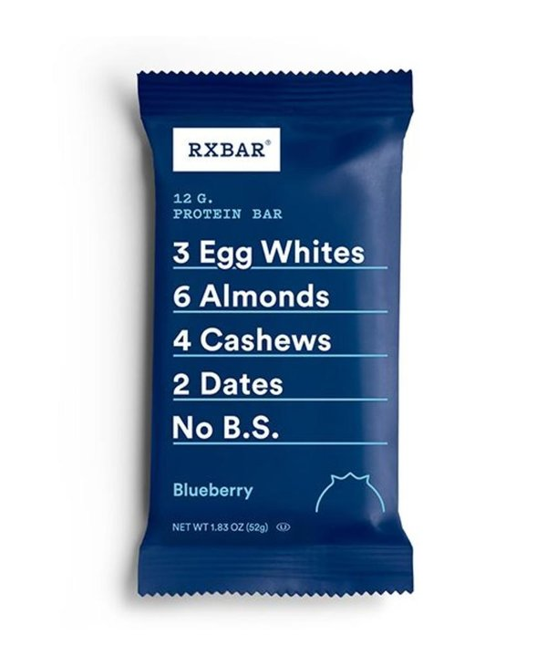 Rx Protein Bar Blueberry single