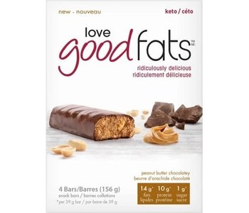 Good Fats Peanut Butter Chocolatey Box of 12
