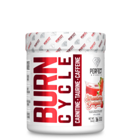 Perfect Sport Burn Cycle Pre Workout Strawberry Daiquiri 144g