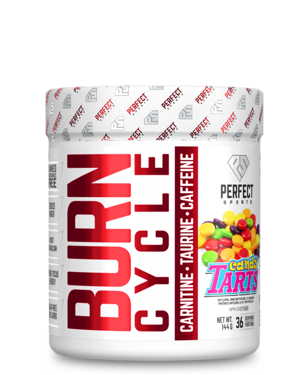 Burn Cycle Pre Workout Candy Tarts 144g