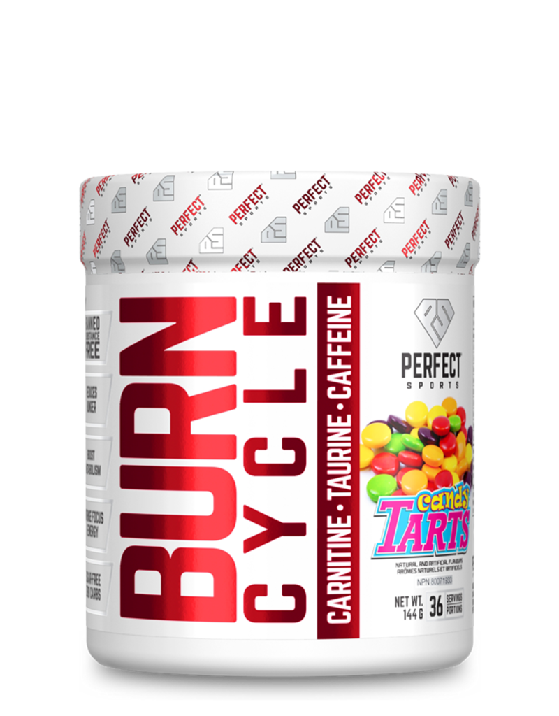 Perfect Sport Burn Cycle Pre Workout Candy Tarts 144g