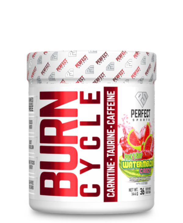 Burn Cycle Pre Workout Watermelon Candy 36 servings
