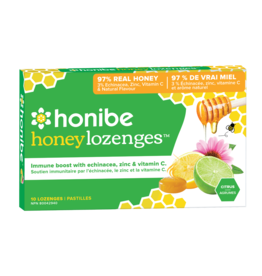 Honibe Honibe Honey Lozenges With Zinc and Vitamin C - Citrus 10 lozenges