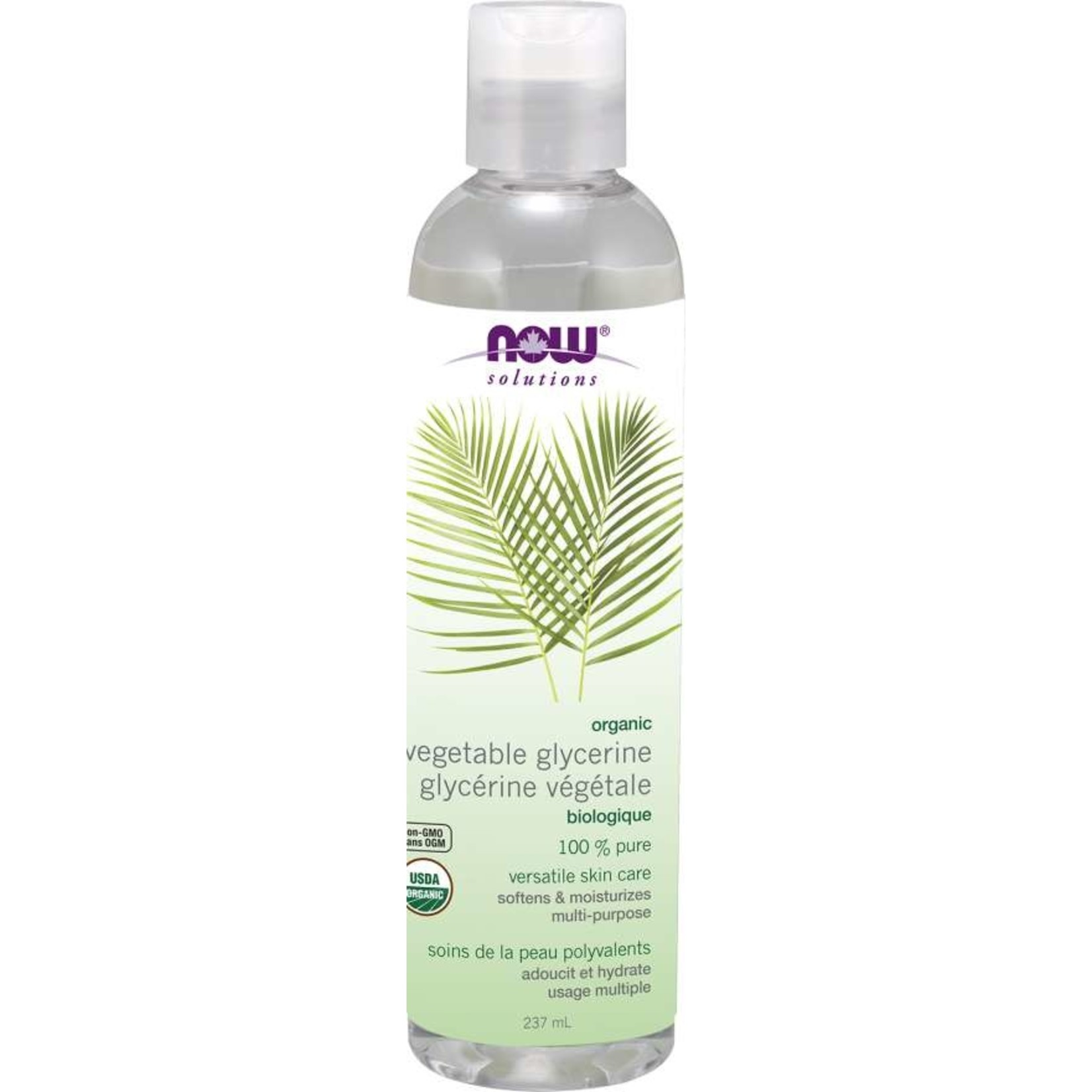 NOW NOW Organic Vegetable Glycerin 100% Pure 237ml