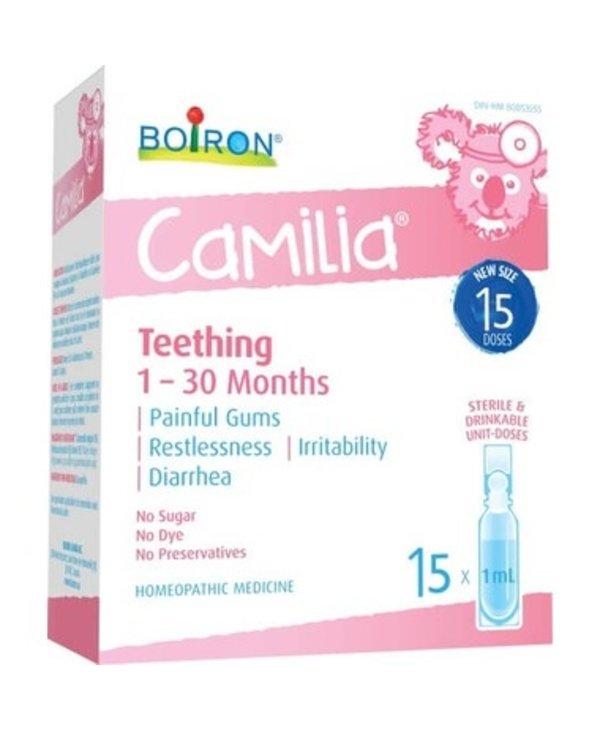 Boiron Camilia Teething Homeopathic 1-30 months 1ml- 30 units