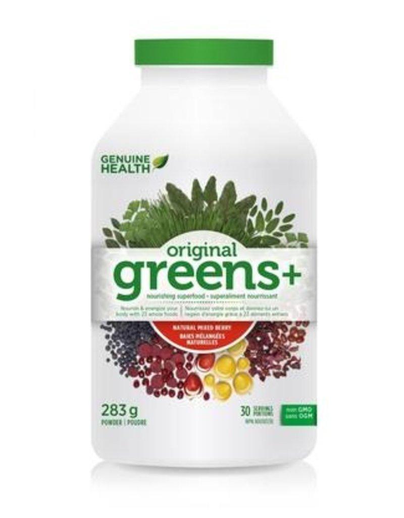 Genuine Health Genuine Health Original Greens + Mixed Berry 283g