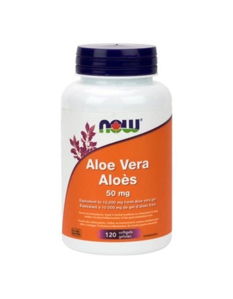 NOW Aloe Vera 50mg 120 softgel