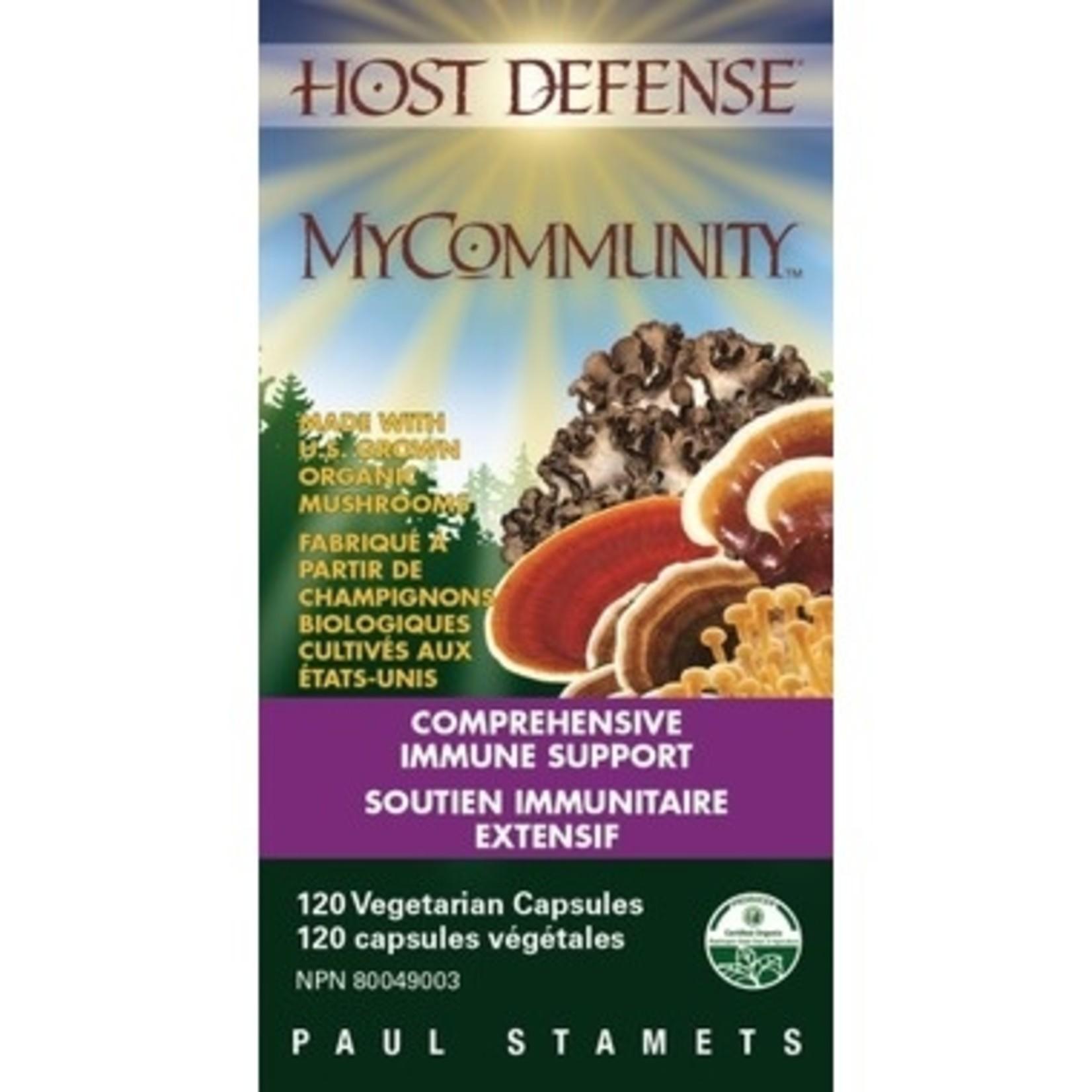 Host Defense Host Defense My Community Mushrooms 120 caps