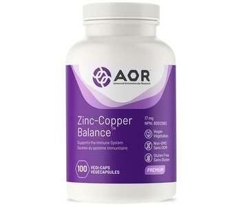 AOR Zinc-Copper Balance 100 vcaps
