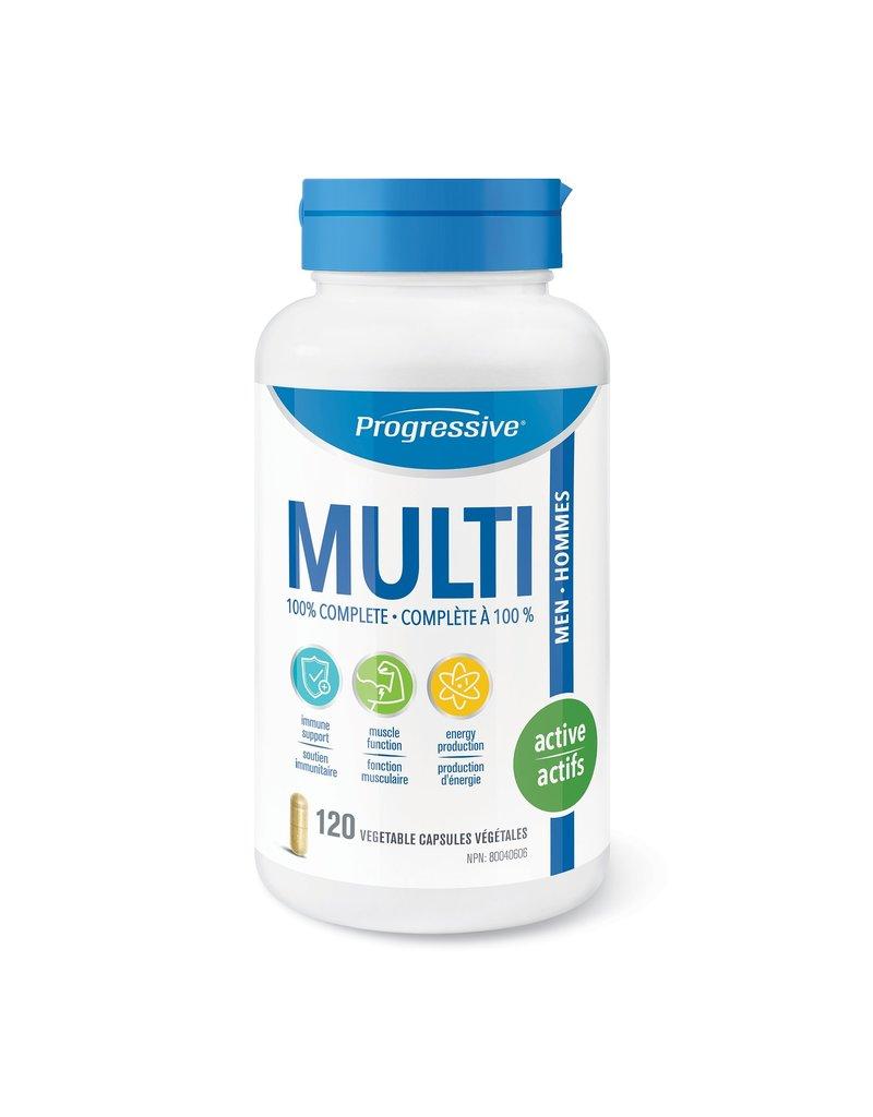 Progressive Multivitamin Active Men 120 caps
