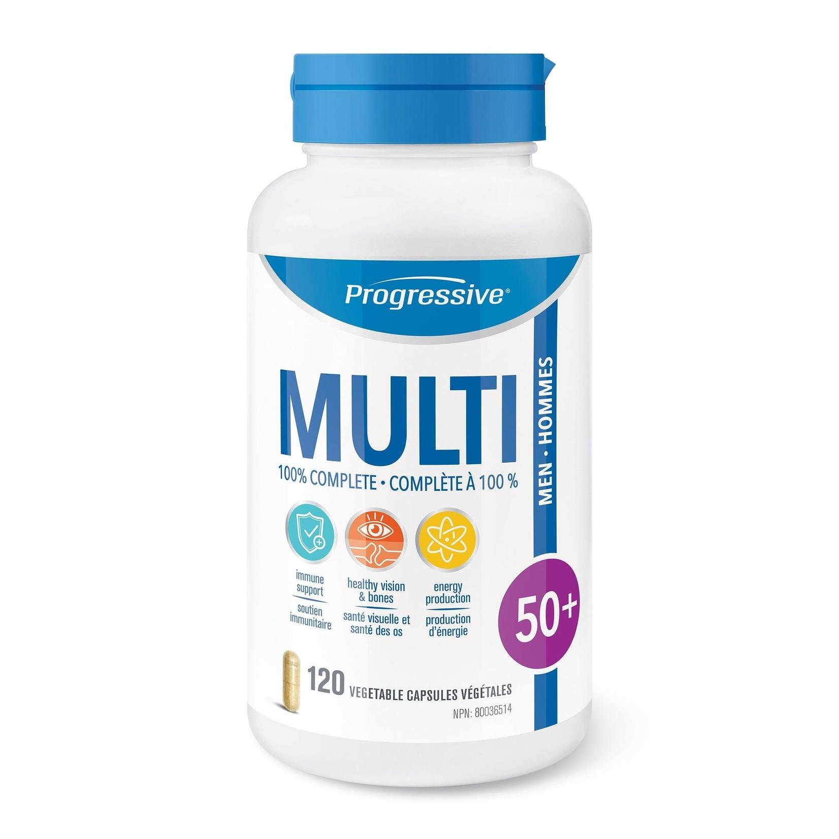 Progressive Multivitamin Men 50+ 120 caps