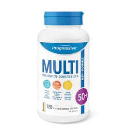 Progressive Multivitamin Men 50+ 120 caps
