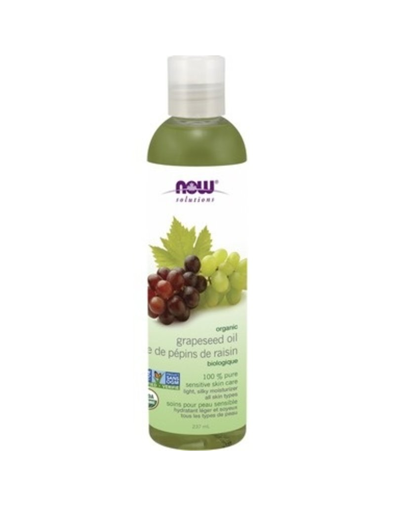 NOW Organic Grapeseed Oil 237ml