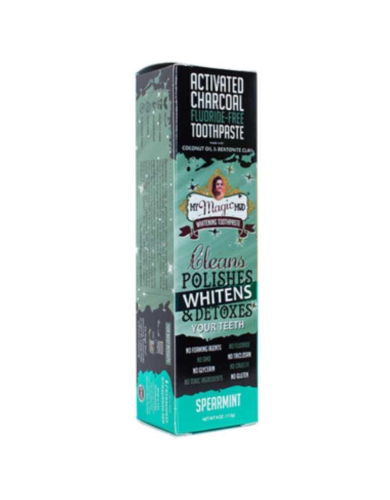 My Magic Mud Activated Charcoal Toothpaste Spearmint 113g