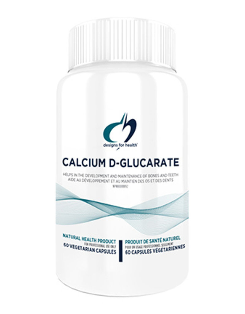Designs for Health Calcium D-Glucarate 60 vcaps