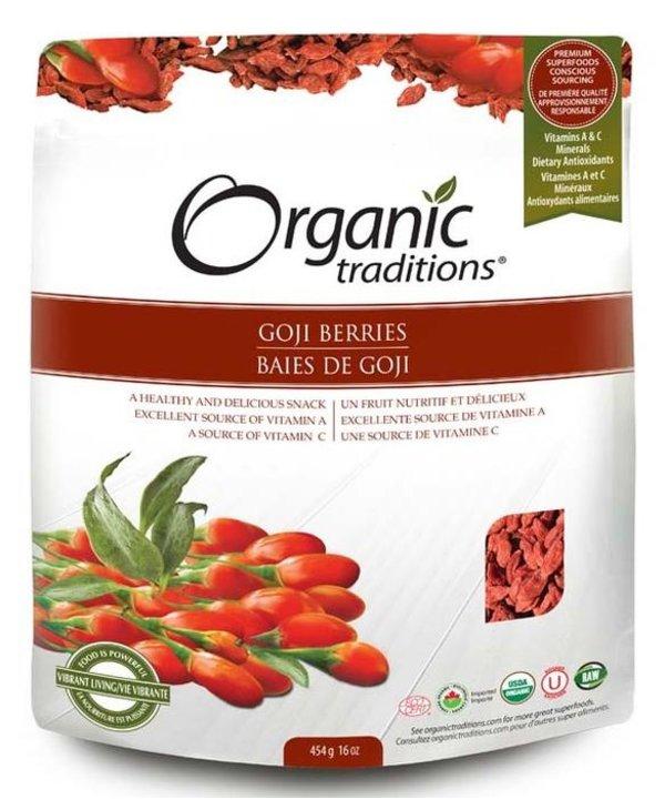 Organic Traditions Goji Berries 227g