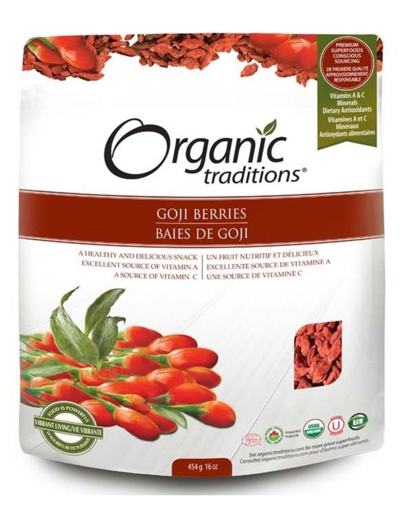 Organic Traditions Organic Traditions Goji Berries 227g