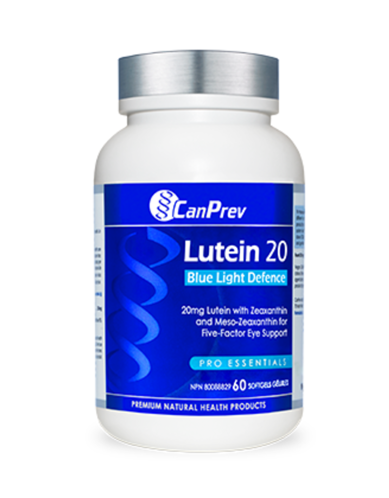 Can Prev Lutein 20 - Blue Light Defence 60 softgels