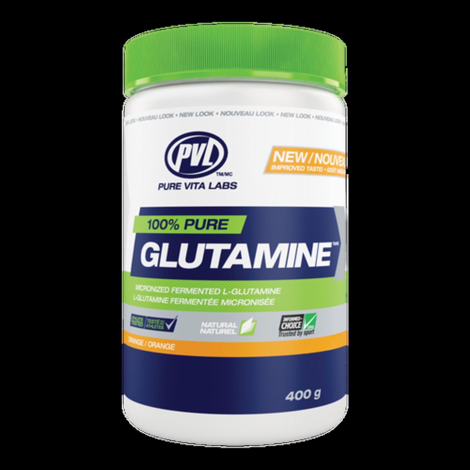 PVL 100% Pure Glutamine - Orange 400g