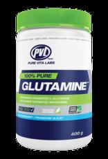 Pure Vita Labs 100% Pure Glutamine - Blue Raspberry 400g