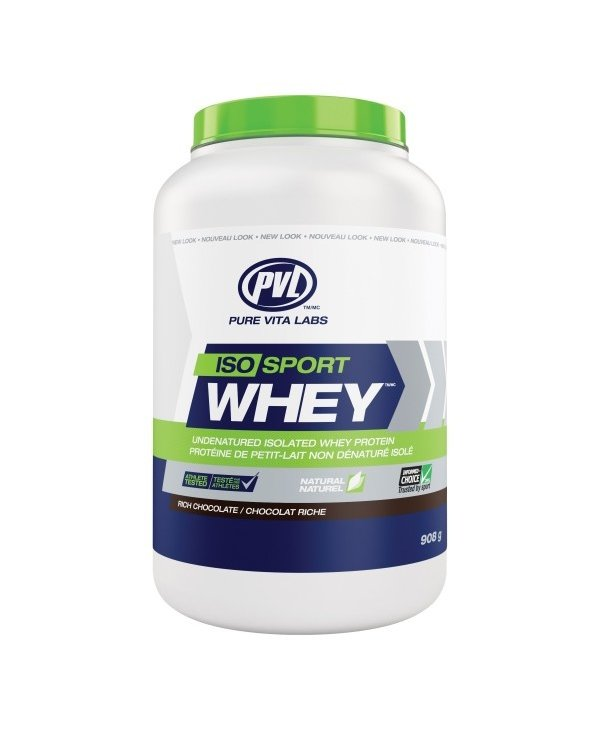 Iso Sport Whey Protein Rich Chocolate 908g