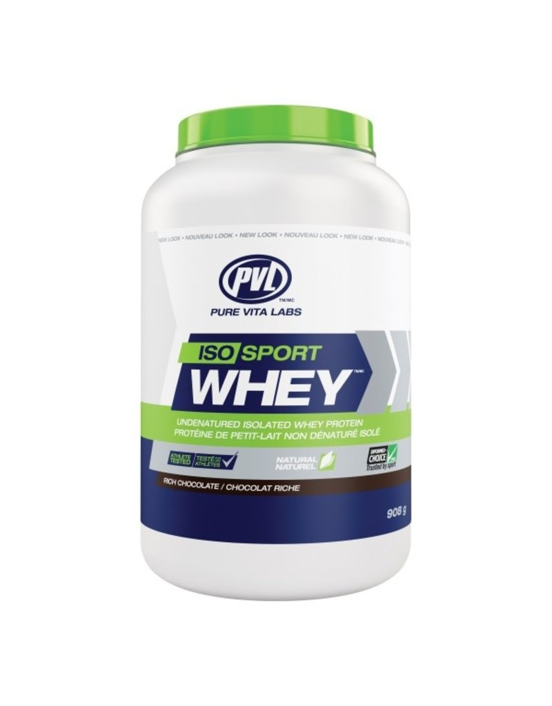 Pure Vita Labs Iso Sport Whey Protein Rich Chocolate 908g