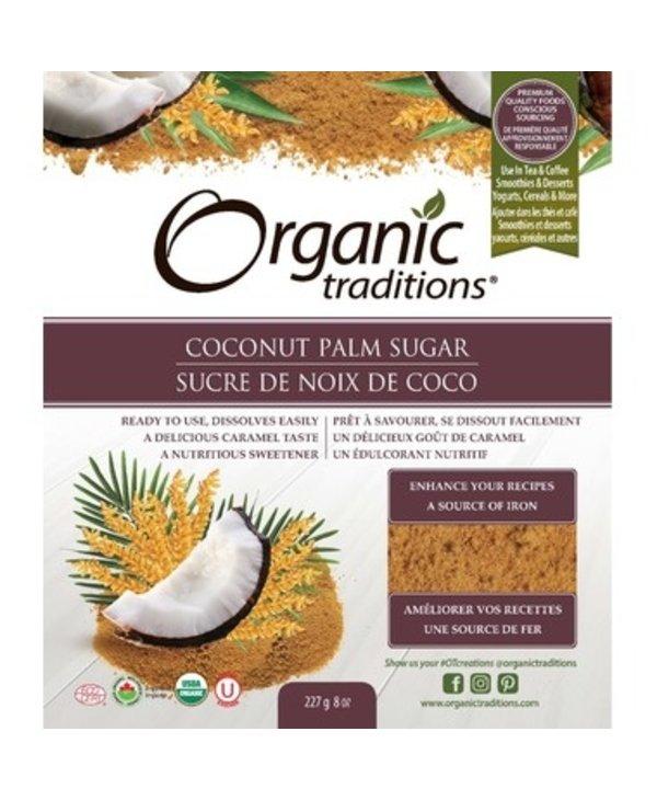 Organic Traditions Coconut Palm Sugar 454g