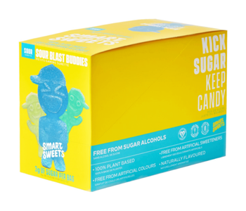 Smart Sweets Sour Blast Buddies Box of 12