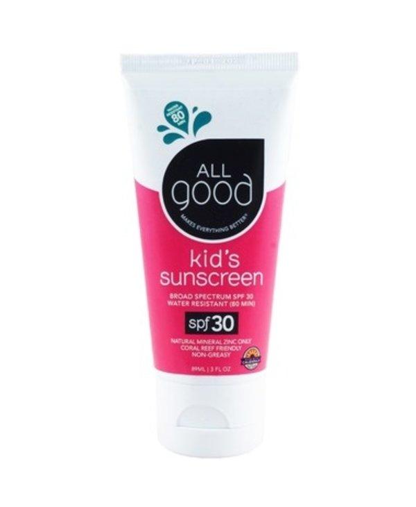 All Good Kid's Mineral Sunscreen SPF 30 89ml