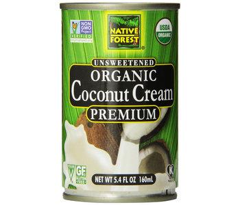 Native Forest Unsweetened Organic Coconut Cream 160ml