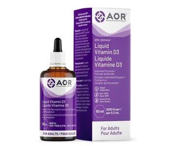 AOR Vitamin D3 Liquid Vegan 50ml