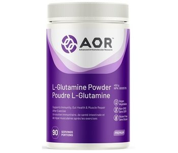 AOR L-glutamine powder 454g
