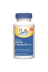 Swiss Natural Cold Pressed Evening Primrose Oil 500mg 240SG