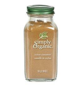 Simply Organic Organic Ceylon Cinnamon 59g