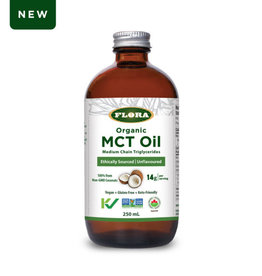 Flora Flora Organic MCT Oil 250ml