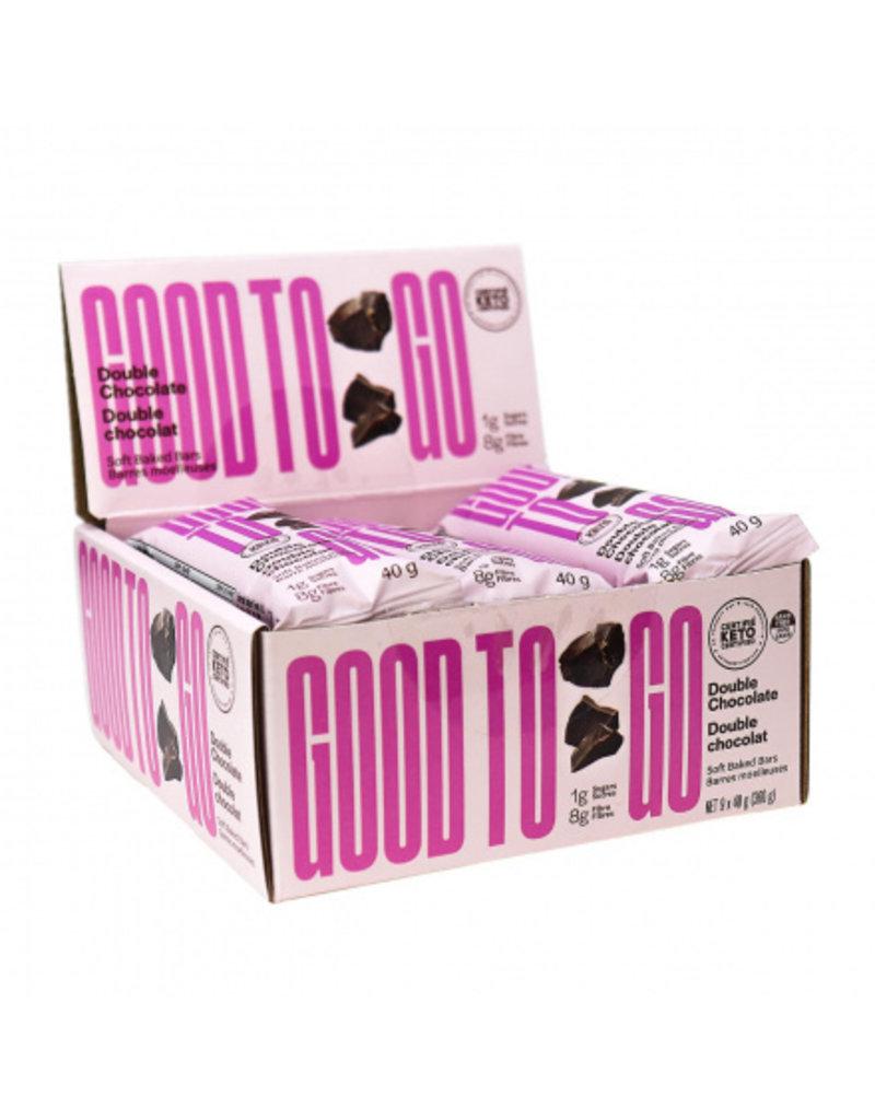 Good to Go Good To Go Keto Bar Double Chocolate Box of 12