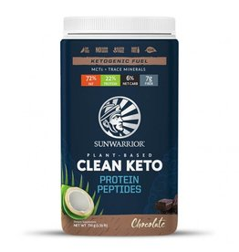 Sun Warrior Clean Keto Protein - Chocolate 720g