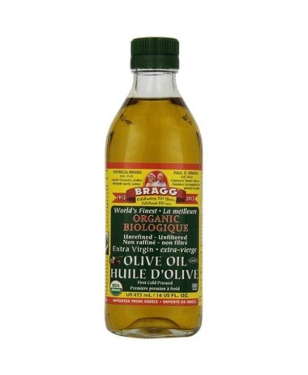 Olive Oil Organic Unrefined Extra-Virgin 473ml