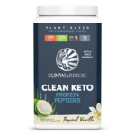 Sun Warrior Clean Keto Protein - Tropical Vanilla 720g