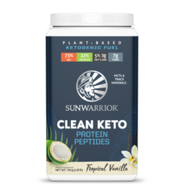 Sun Warrior Clean Keto Protein - Tropical Vanilla 720g