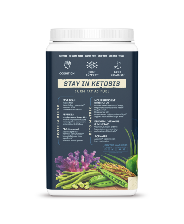 Clean Keto Protein - Tropical Vanilla 720g