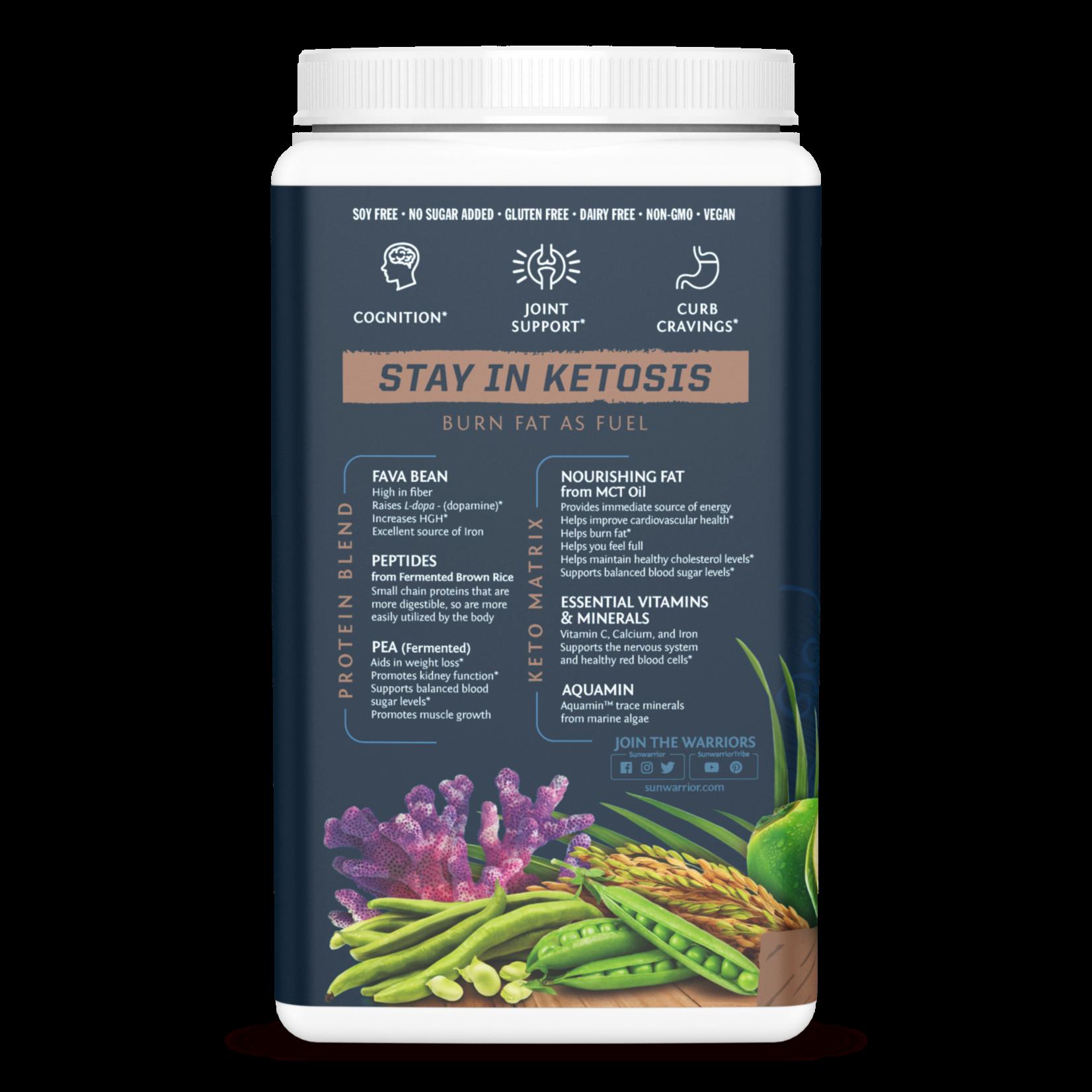 Sun Warrior Clean Keto Protein - Chocolate 720g