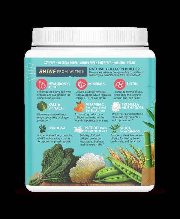 Vegan Collagen Building Protein - Salted Caramel 500g