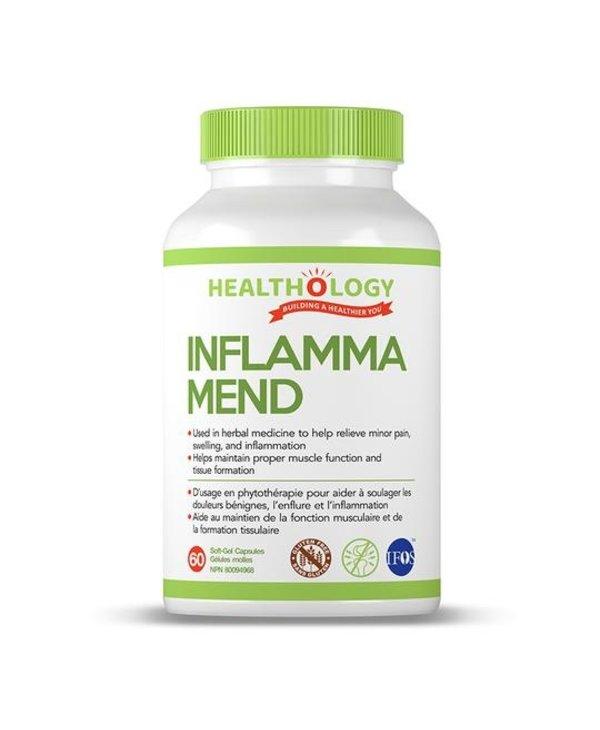 Healthology Inflamma-mend Inflammation Formula 60 softgels