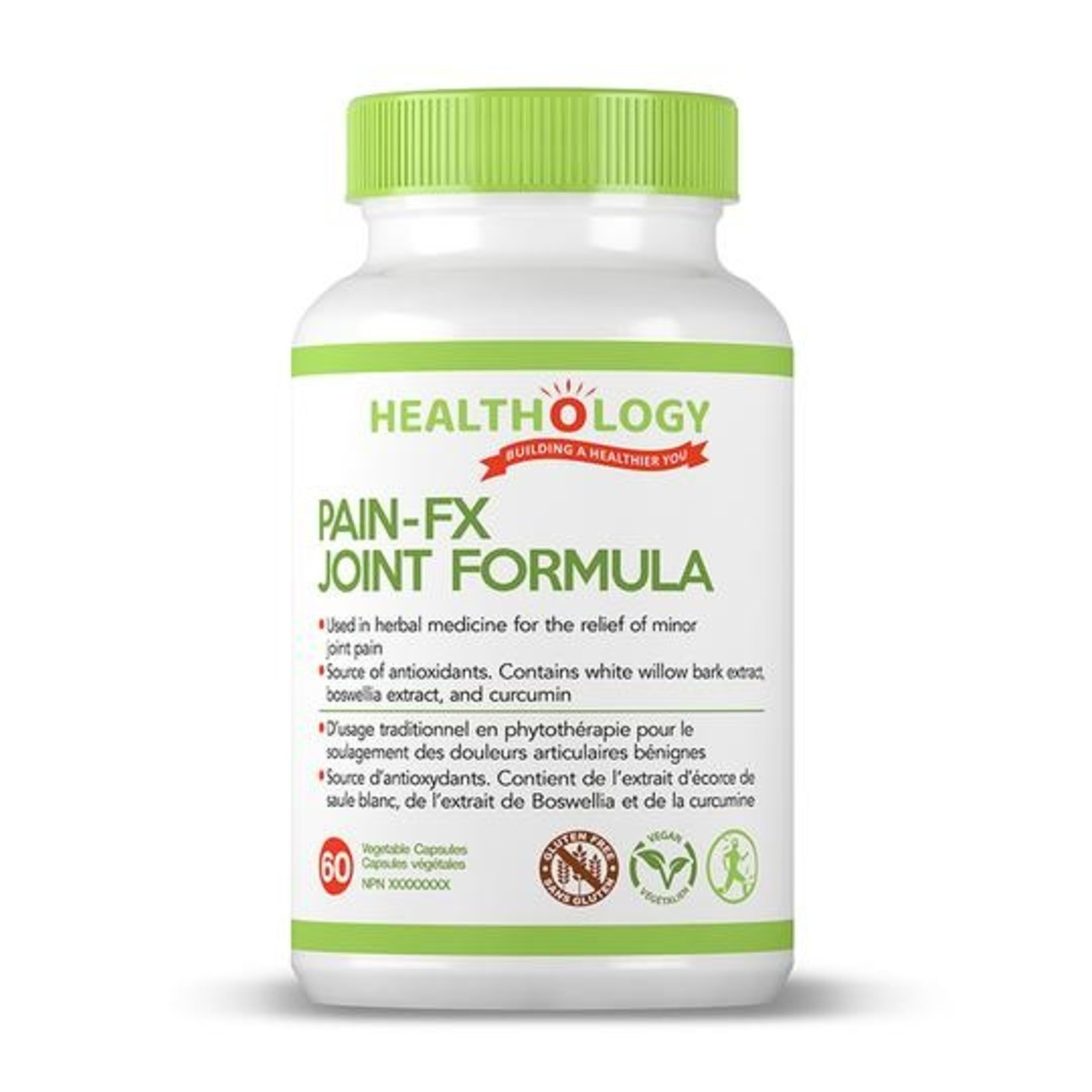 Healthology Healthology Pain-FX Joint Formula 60 caps
