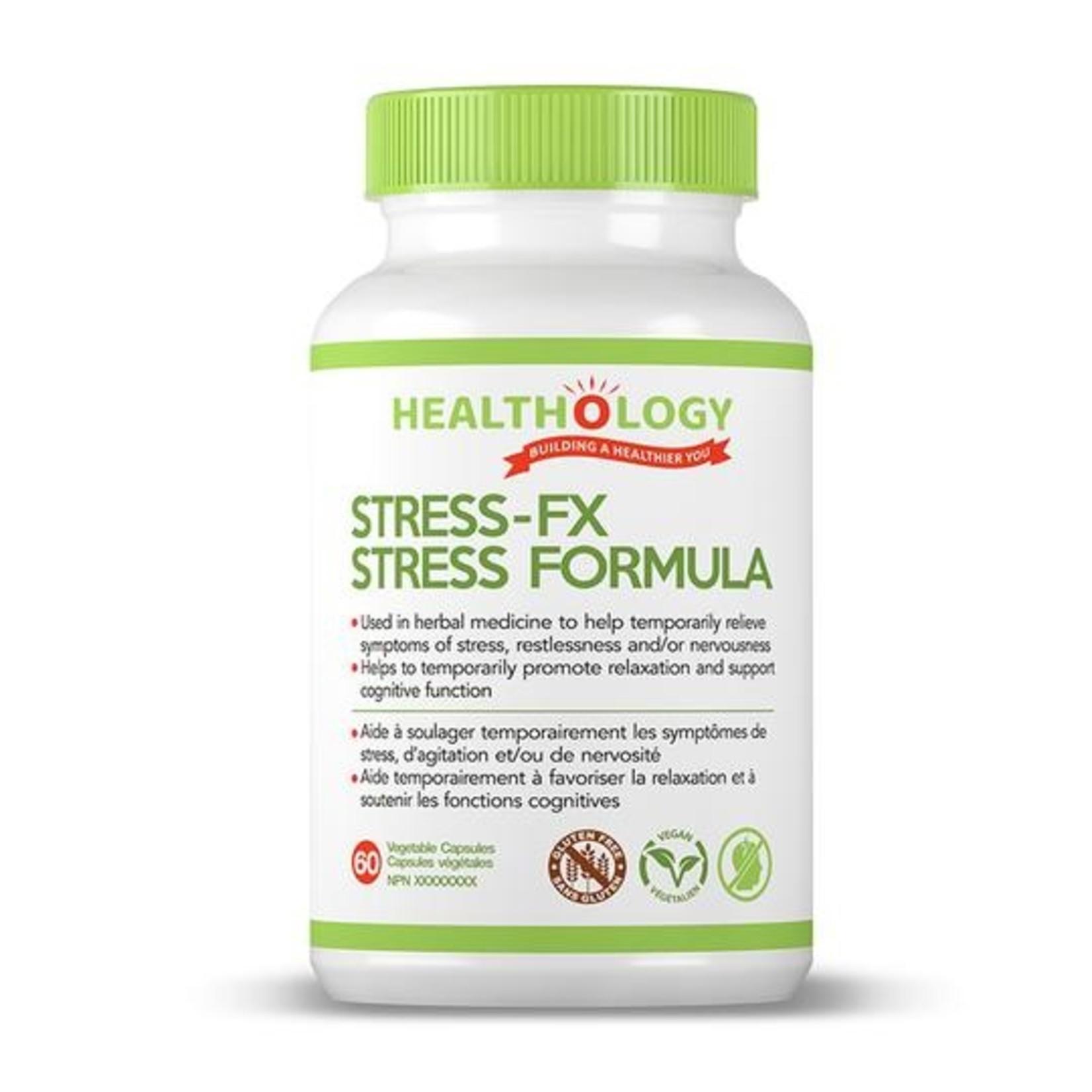Healthology Healthology Stress-FX Stress Formula 60 caps